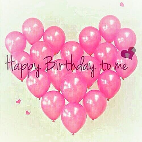 ∆ HAPPY BIRTHDAY TO ME!! ♡♡