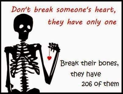 break the bone