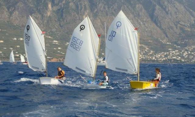 Στην Καλαμάτα το Πρωτάθλημα Ιστιοπλοΐας Νοτίου Ελλάδος Optimist και Laser 4,7