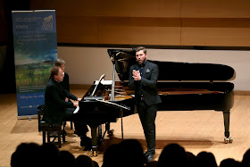 Joseph Middleton & James Newby performing at the 2019 Leeds Lieder Festival