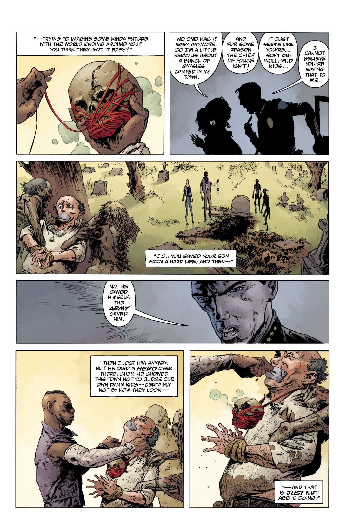 Read online Abe Sapien comic -  Issue #10 - 25