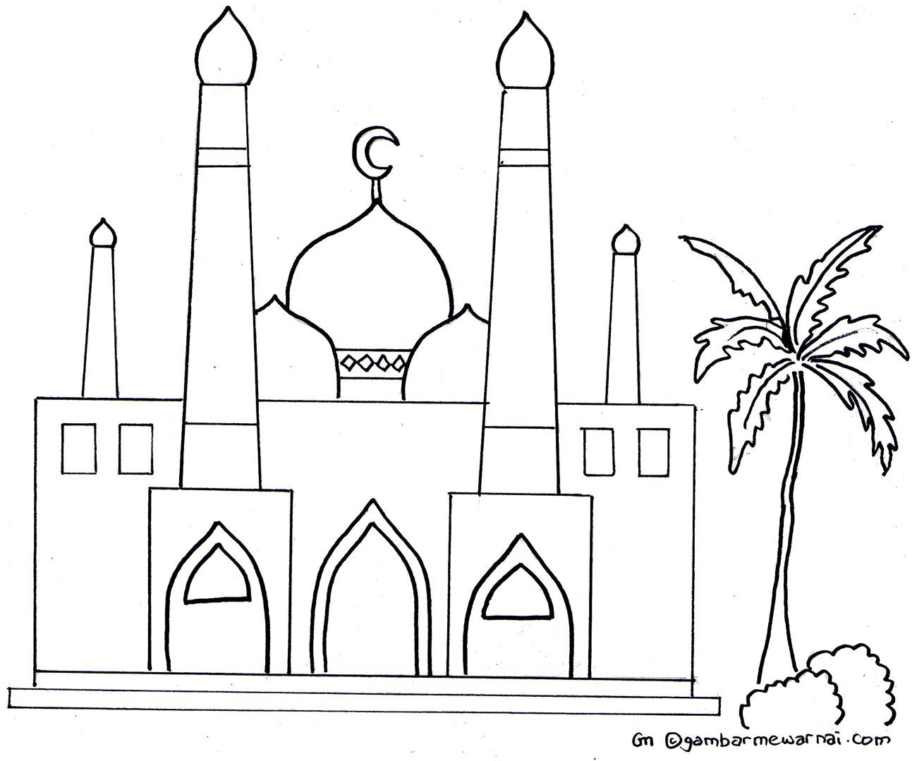 40 Trend Terbaru Gambar Sketsa Animasi Tema Maulud Nabi Tea And