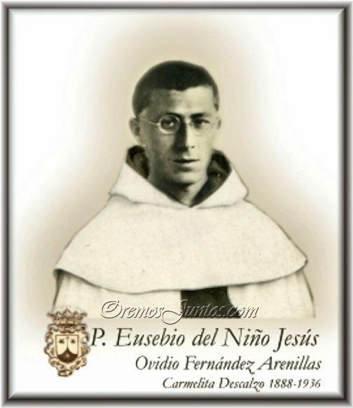 El padre Eusebio del Niño Jesús.