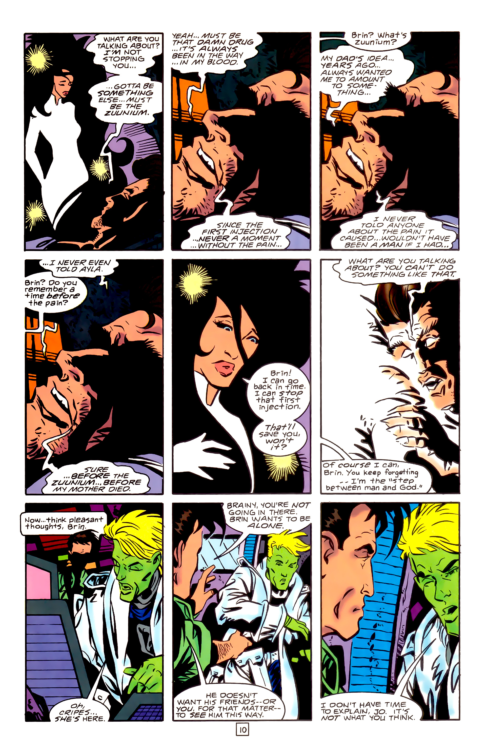 Legion of Super-Heroes (1989) _Annual_3 Page 10