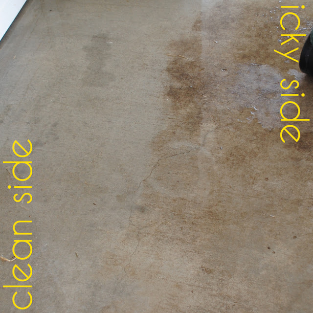 DIY Miracle Concrete Patio Cleaner - DIY Craft Projects