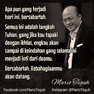 Kata-Kata Mutiara Mario Teguh yang Memotivasi terbaru 2016