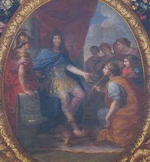 Galerie des Glaces, Louis XIV, Hermès, hermétisme, occultisme.