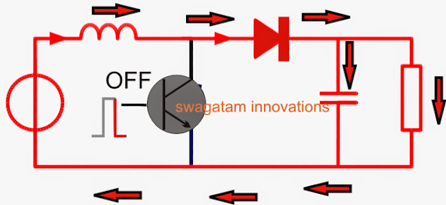 Function of diode in a boost converter