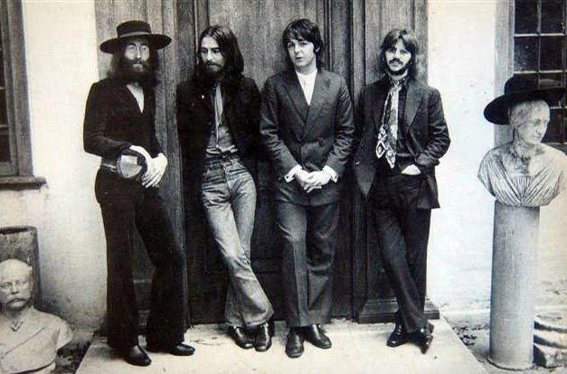 The Beatles Last Photo Shoot August 1969  vintage everyday