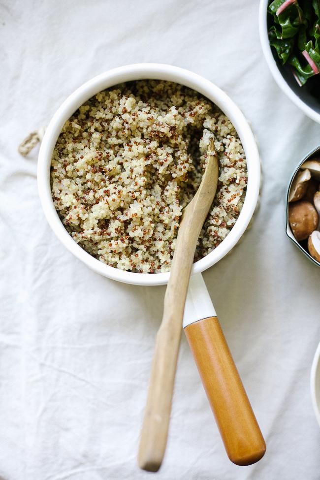 Quinoa Buddha Bowl with Miso Gravy