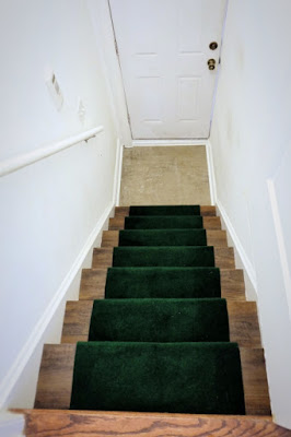 vinyl peel stick wood look floor stair