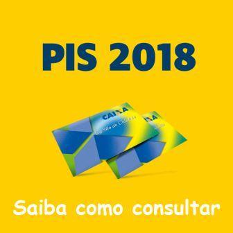 Consultar PIS 2018