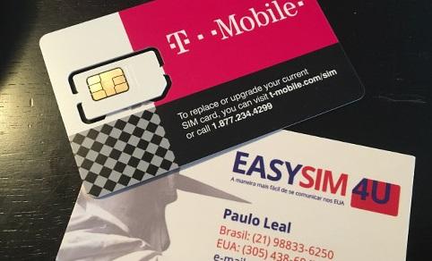 Chip Pré Pago para celular e internet