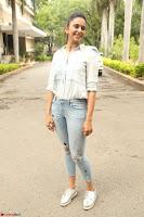 Rakul Preet Singh in Jeans and White Shirt At Jaya Janaki Nayaka le Logo Launch ~  Exclusive 049.JPG