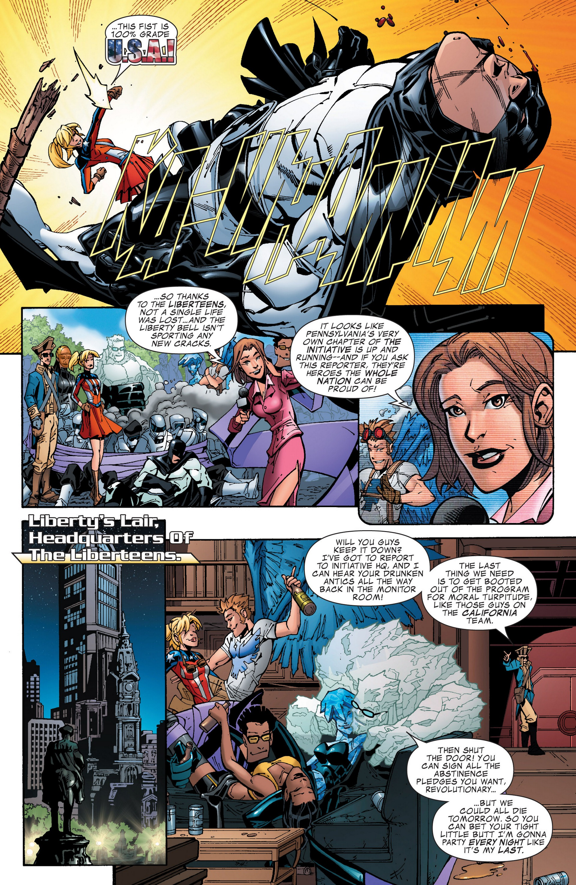Read online Secret Invasion: The Infiltration comic -  Issue #4 - 37