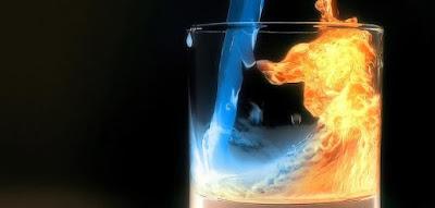 لماذا لا يحترق الماء؟