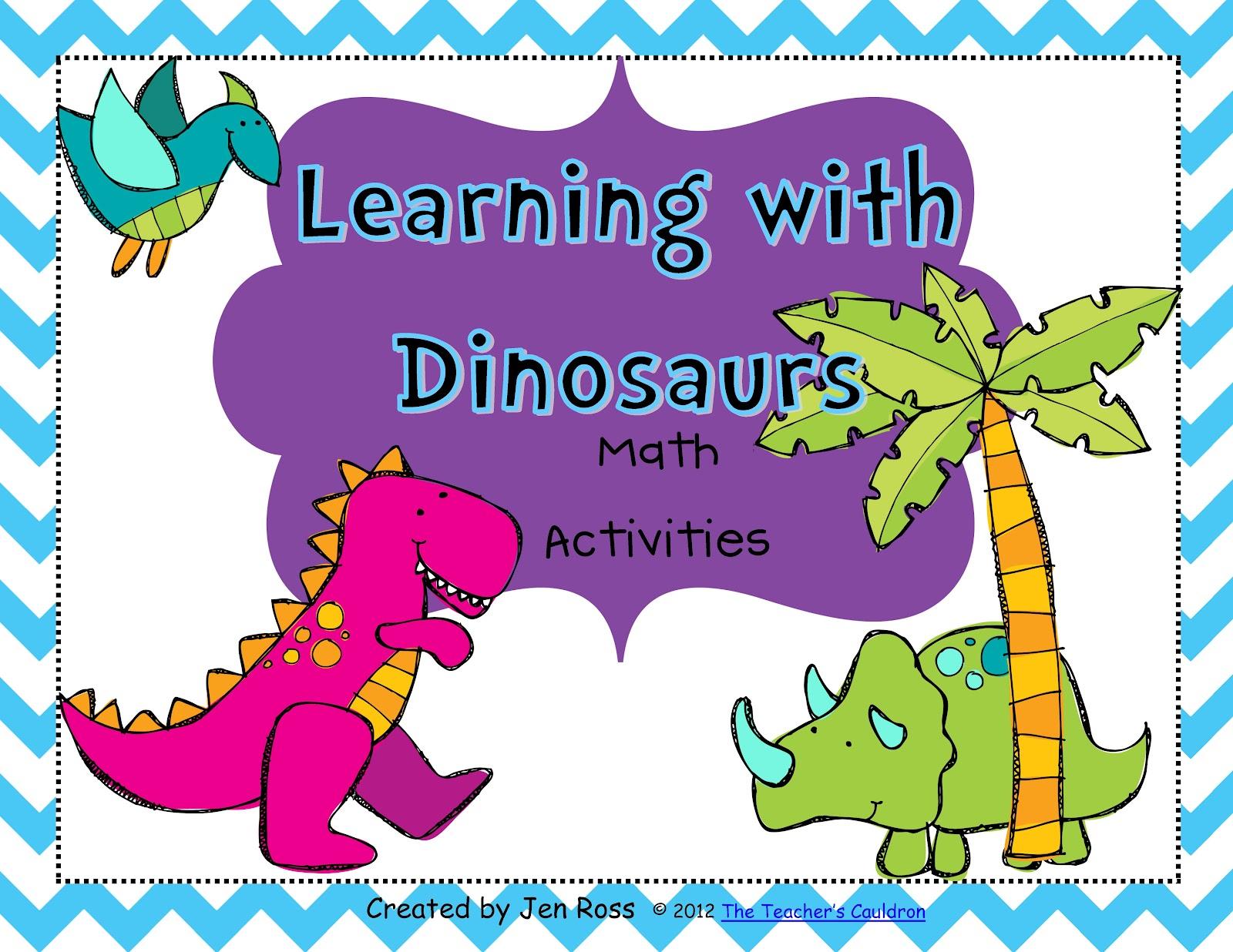 Dinosaurs And A Math Freebie