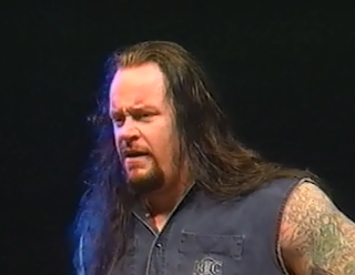 WWE / WWF Mayhem in Manchester 1998 - The Undertaker wrestled in biker gear