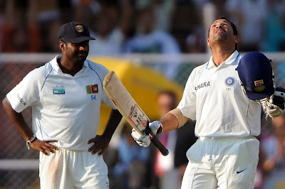 Sachin, the Greatest Batsman... Murli, the Greatest Bowler