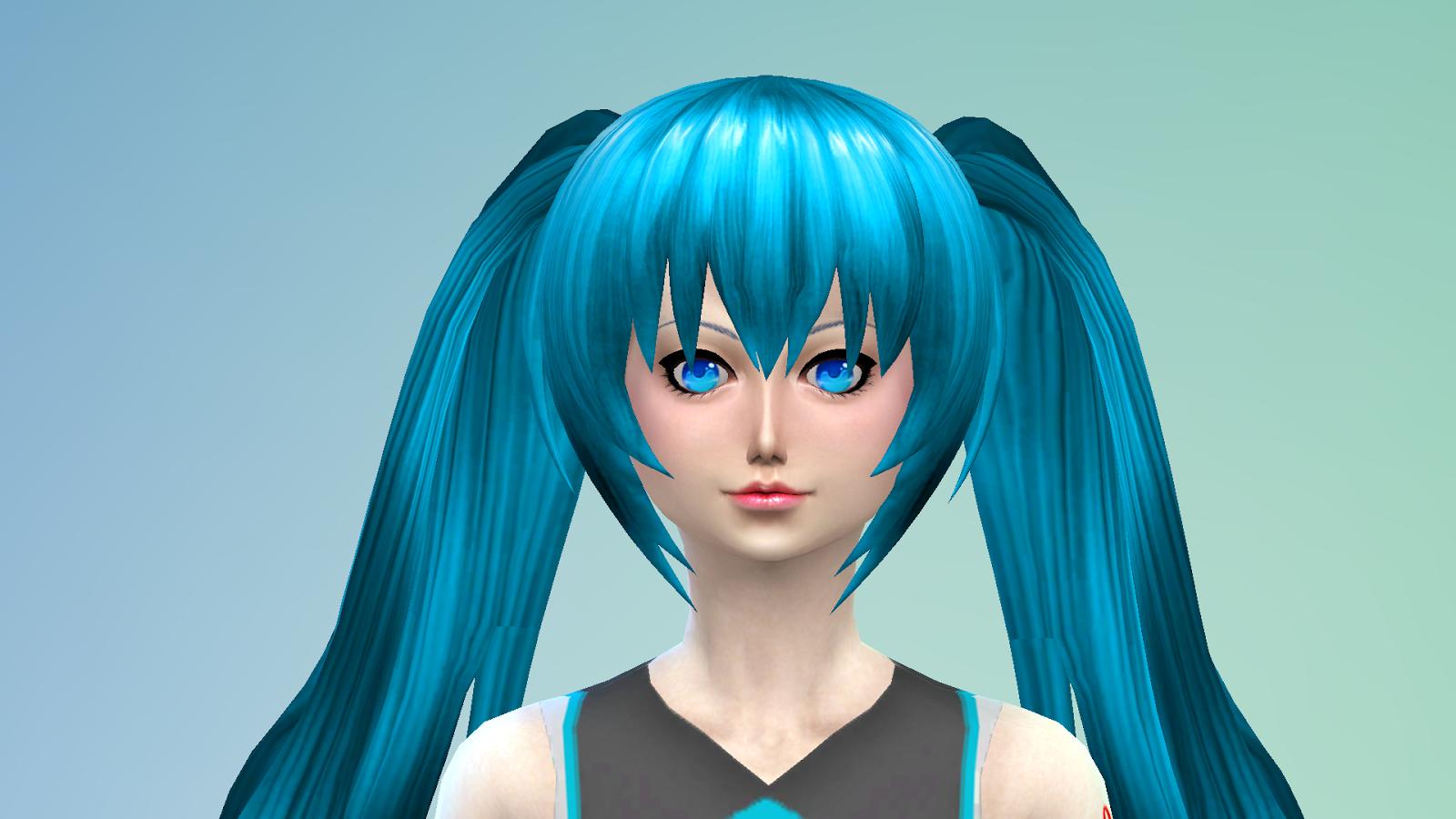 Ng Sims 3 Hatsune Miku Sims 4 Models Amp Clothes