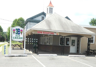 3B Ice Cream Shop in Duncannon Pennsylvania