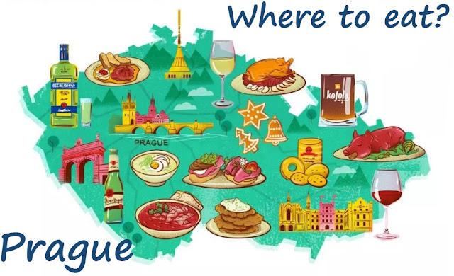 Де поїсти в Празі
