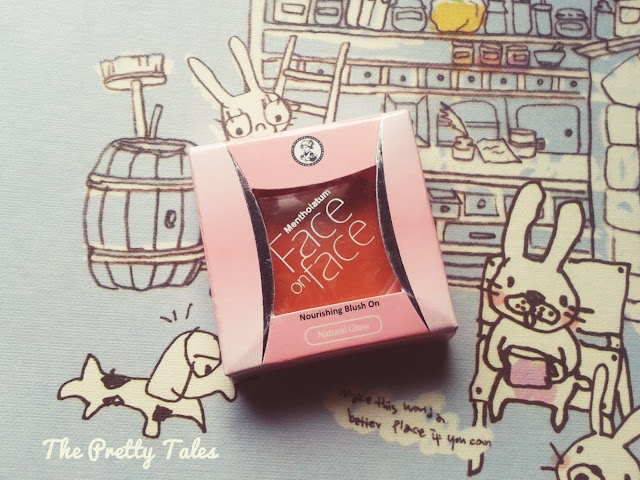 face on face nourishing blush on natural glow review