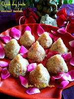 Dry fruits modak