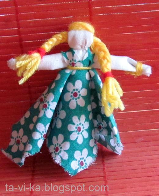 народная кукла девочка