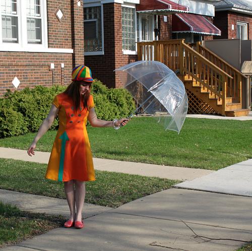 Manic Pop Arrow dress mod sixties style