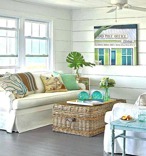 Wicker Rattan Storage Trunks Chests As Tables Decorative Furniture Accent Pieces Coastal Decor Ideas Interior Design Diy Shopping