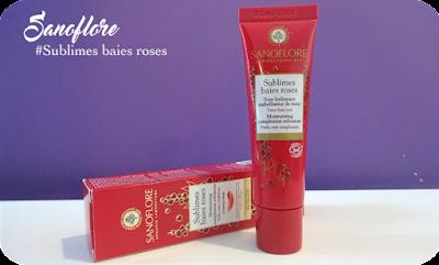 Sanoflore cosmétiques visage Bio sublimes baies roses