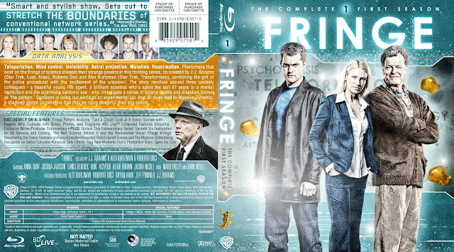 Fringe Season 1 Bluray Cover