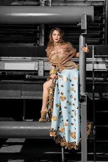 Kiara Advani heavy chest for Femina Wedding Times Magazine February 2017