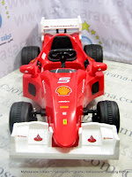 Mobil Mainan Aki Junior ME1506F Scuderia Ferrari - Produced under license of Ferrari Spa