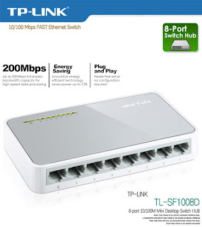 switch 8 port tp link
