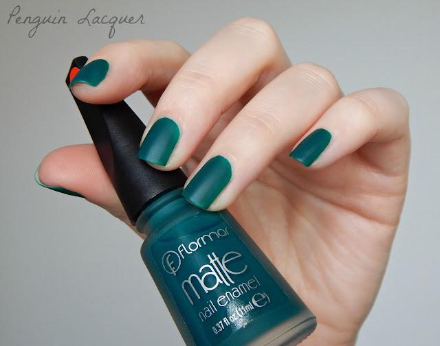 flormar matte elegant green mit flasche