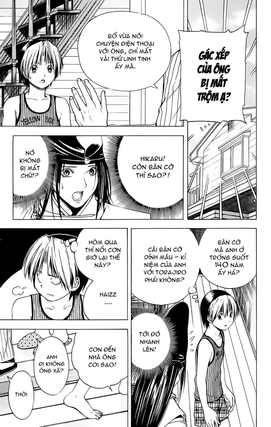 Hikaru No Go hikaru no go chap 122 trang 20