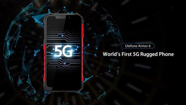 هاتف Ulefone Armor 6 سيكون أول هاتف 5G في العالم