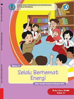 Buku Guru Tema 2 Selalu Berhemat Energi Kelas 4 Kurikulum 2013 Revisi 2017