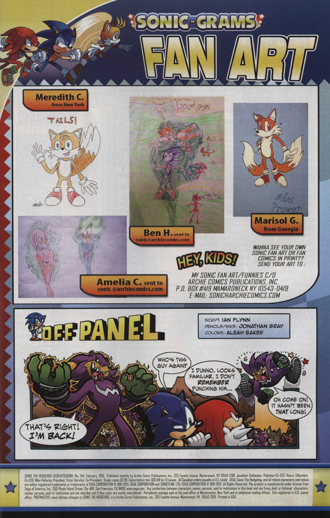 Read online Sonic The Hedgehog comic -  Issue #244 - 33