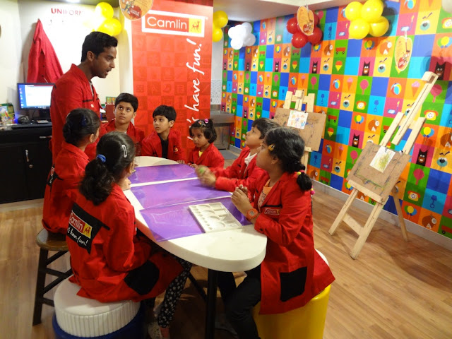 Kids at the launch of 'Camlin Art & Craft Studio' Delhi, NCR