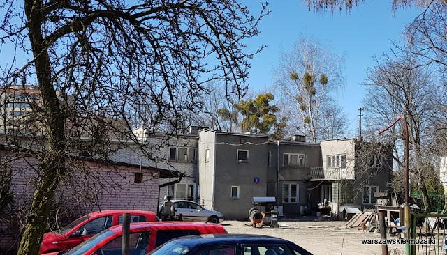 warszawa warsaw wola koło ulice Woli architektura podwórko