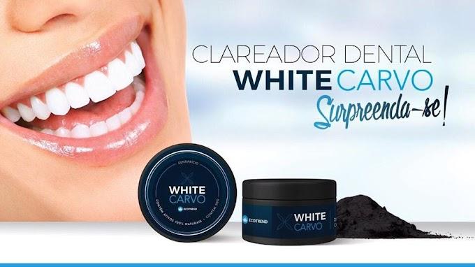 Você quer Clarear seus dentes e  ter um resultado prazeroso? conheça agora White Carvo