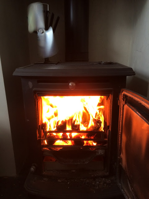 Aga Wood burner