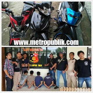 Polres Lampung Timur Berhasil Bekuk Pelaku Curanmor