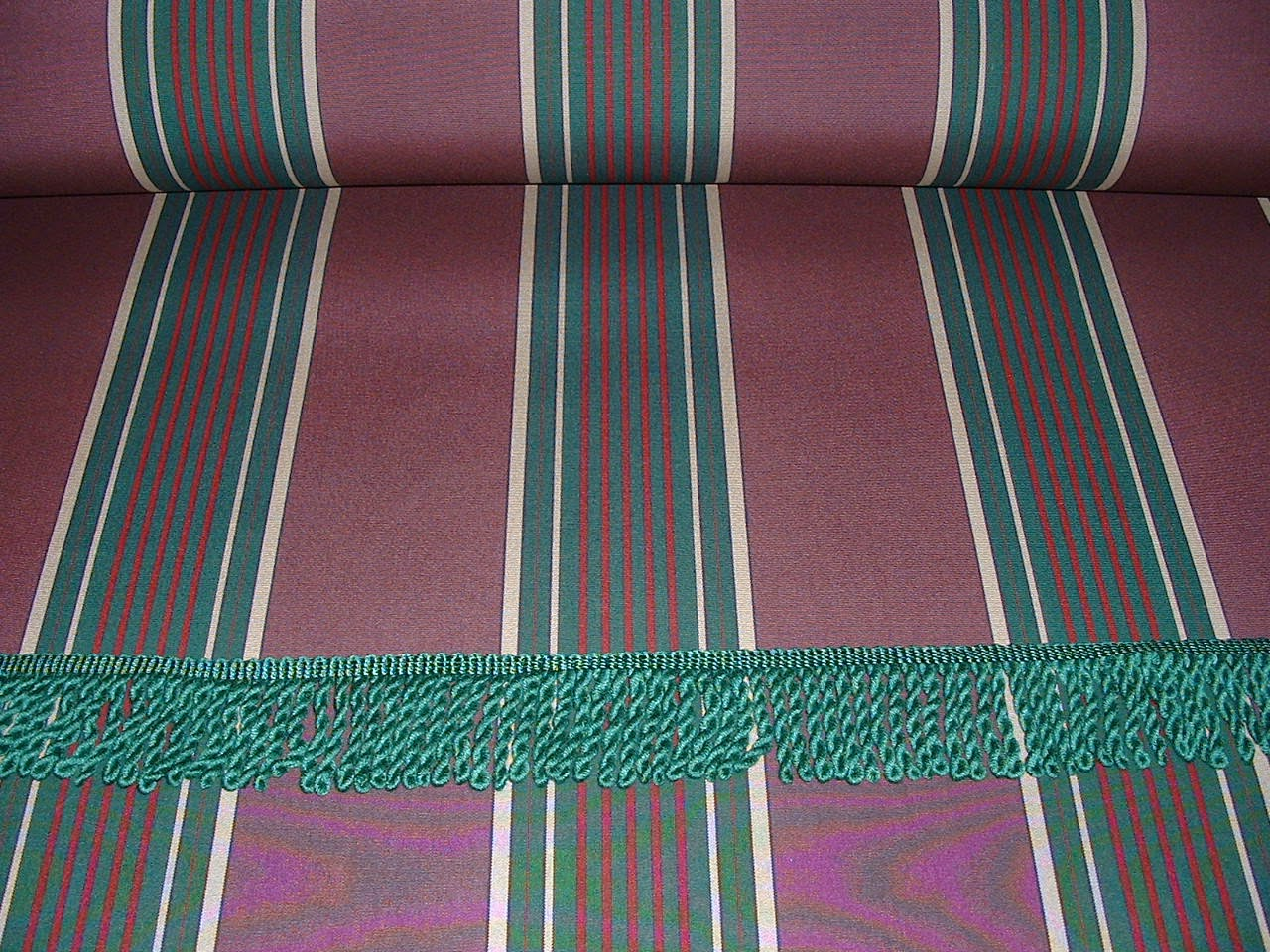 Vintage Awnings Bits And Pieces Of Awning Fabric And