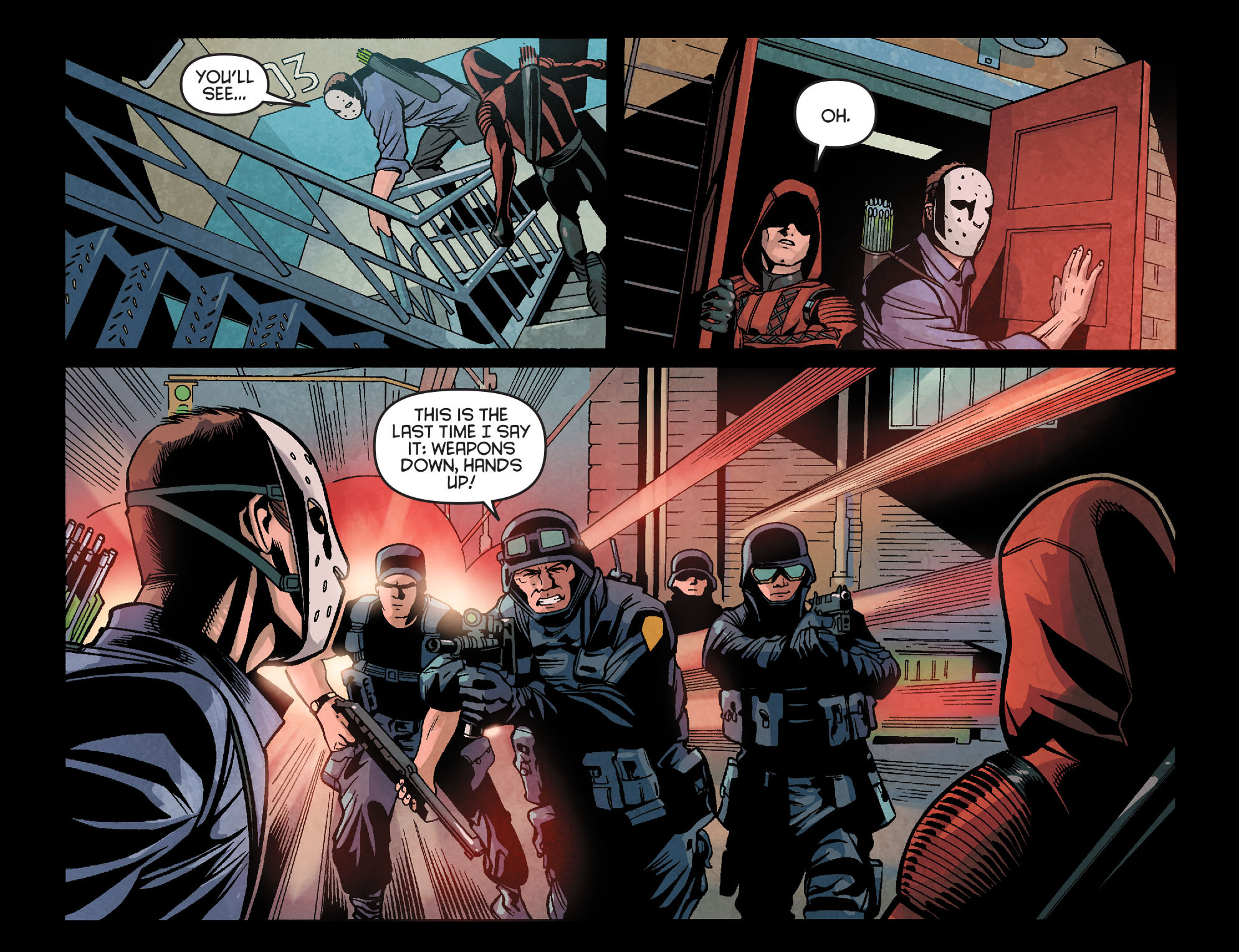 Read online Arrow: Season 2.5 [I] comic -  Issue #18 - 13