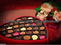 10 Quotes Bahasa Inggris About Chocolate dan Artinya
