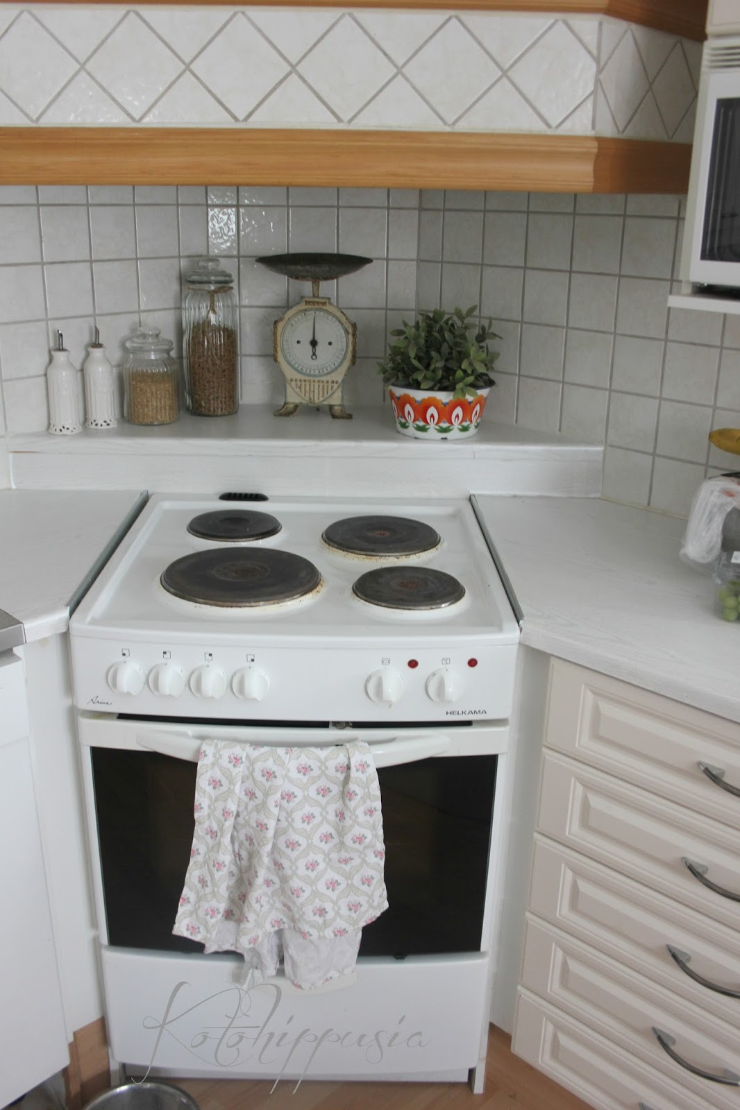 Keittiön halpa uudistus  Kotohippusia